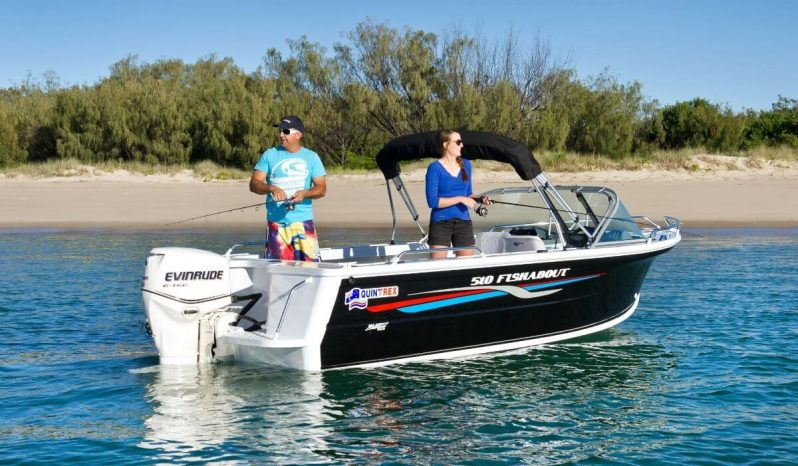 New Quintrex 510 Fishabout Pro full