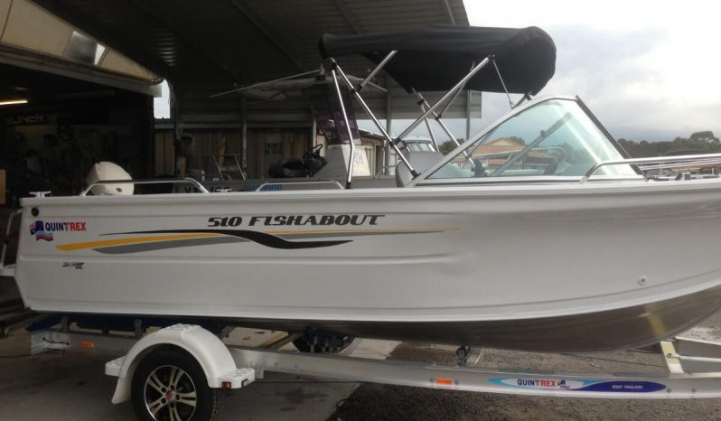 New Quintrex 510 Fishabout full