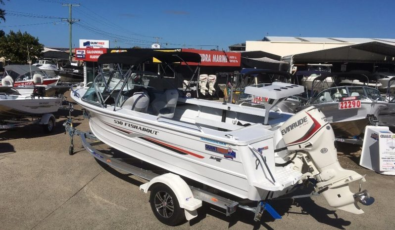 New Quintrex 530 Fishabout Pro full
