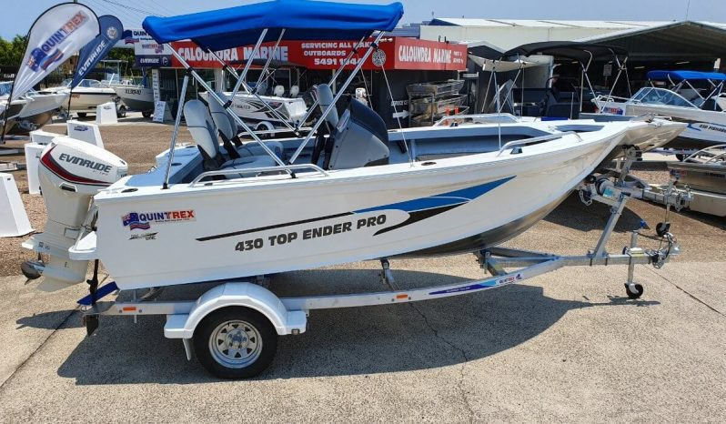 New Quintrex 430 Top Ender Pro full