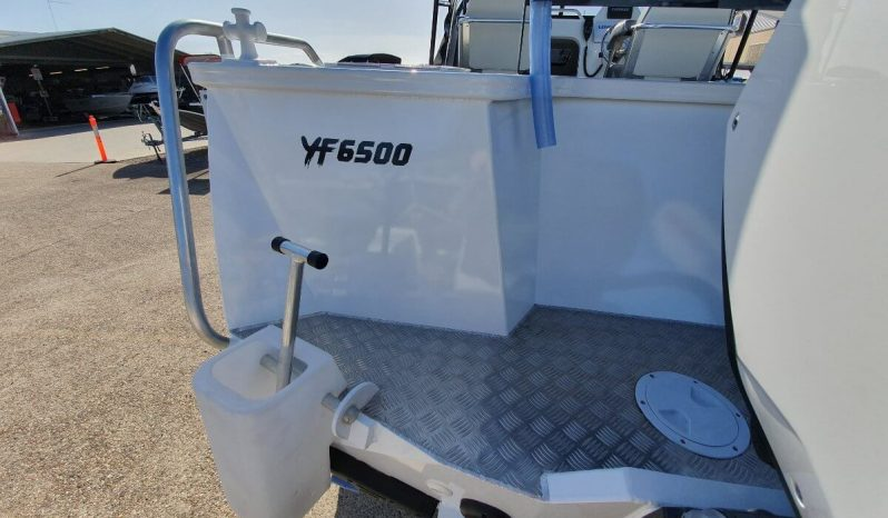 New Yellowfin Plate 6500 Cabin full